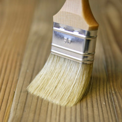 Pensel mix flad m. træskaft