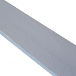 Linoliemaling - Blue smoke
