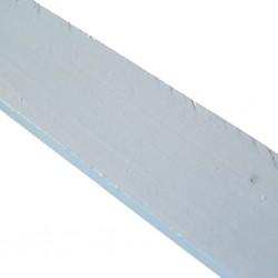 Linoliemaling - Lys hørblomst