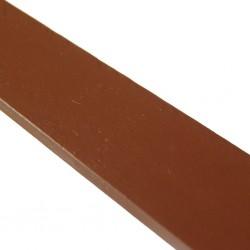 Linoliemaling - Rustrød
