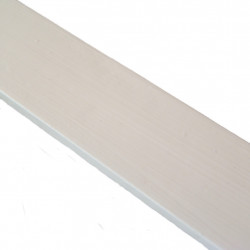 Linoliemaling - Sart hvidrød