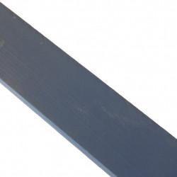 Linoliemaling - Skabsblå