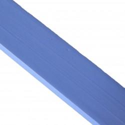 Linoliemaling - Blålys