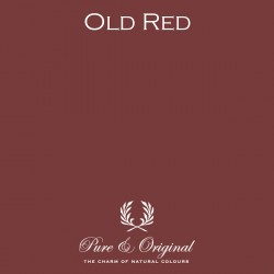 Wall Prim - Old Red