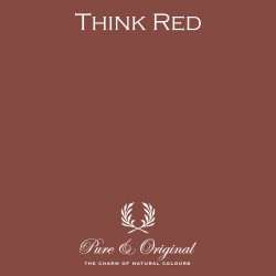 Wall Prim - Think Red
