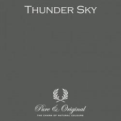 Wall Prim - Thunder sky