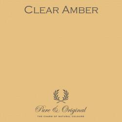 Wall Prim - Clear Amber